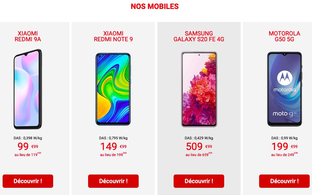 Les avantages Auchan Telecom