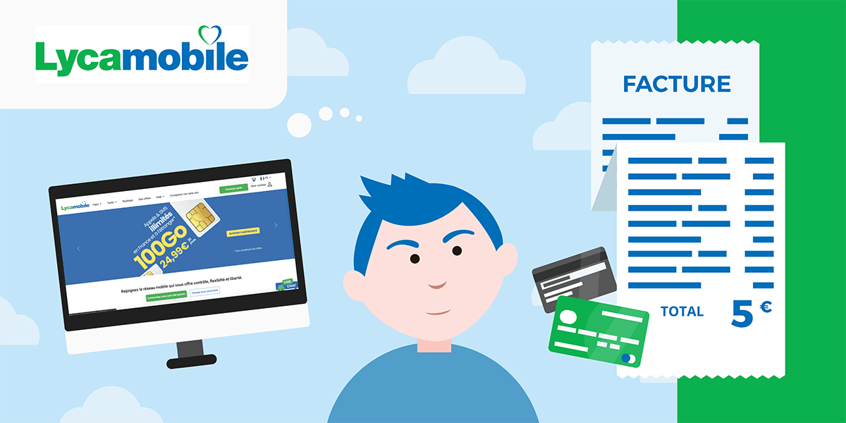 Les factures Lycamobile