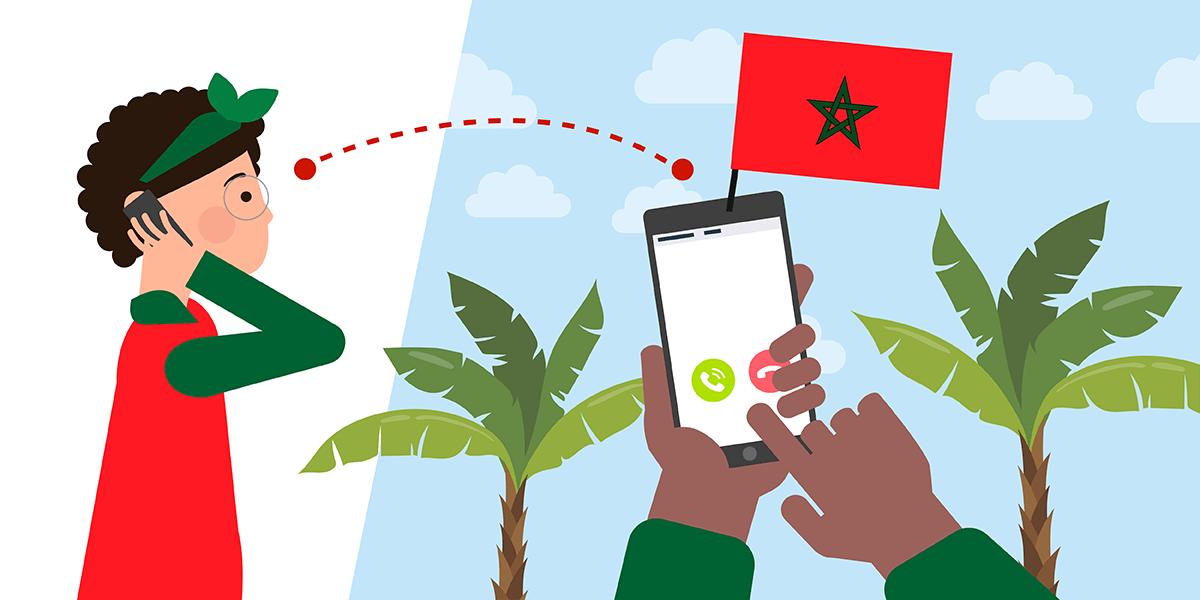Forfait mobile pour le Maroc