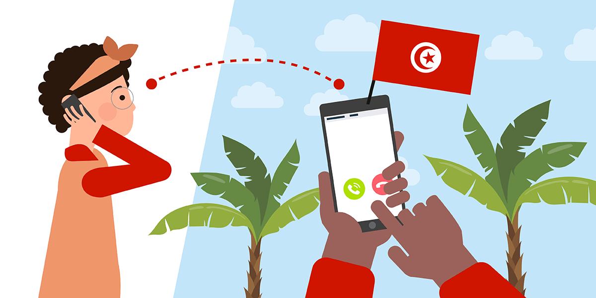 Les abonnements mobiles pour la Tunisie