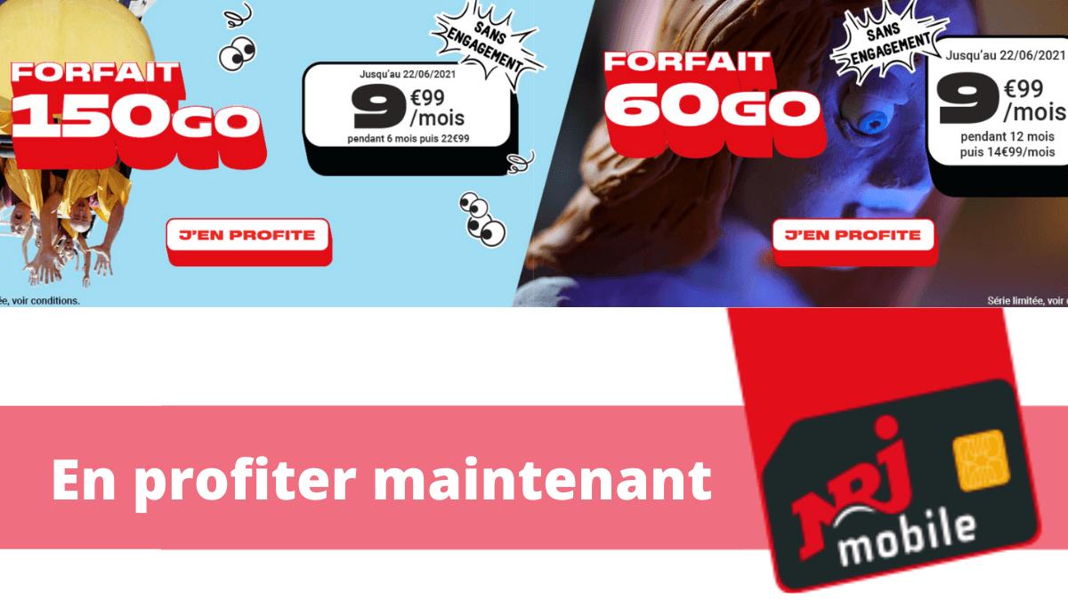forfait nrj woot 150 60 Go