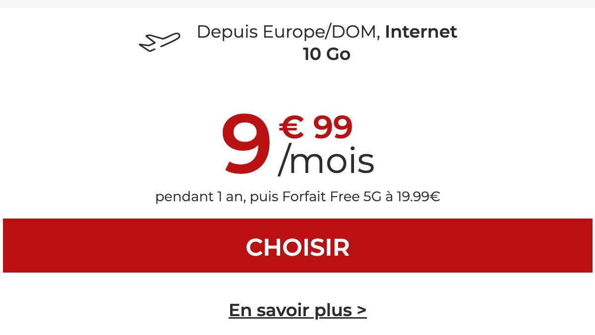 Free Mobile meilleur forfait petit prix