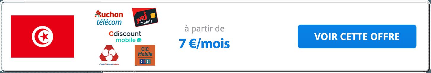 Forfait mobile des MVNO pour la Tunisie