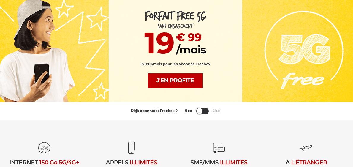 nouveau forfait mobile pas cher