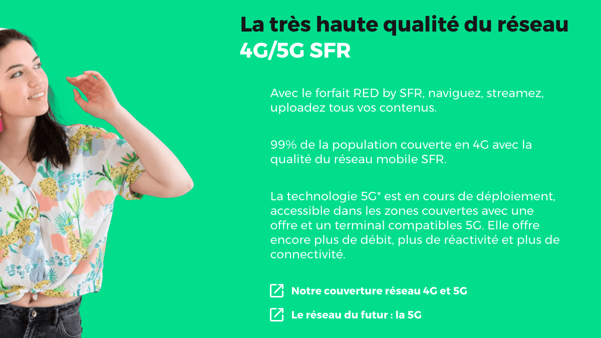 Le bon plan du forfait 5Go chez RED by SFR