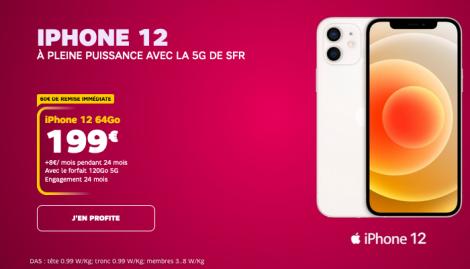 Promo iPhone 12 SFR.