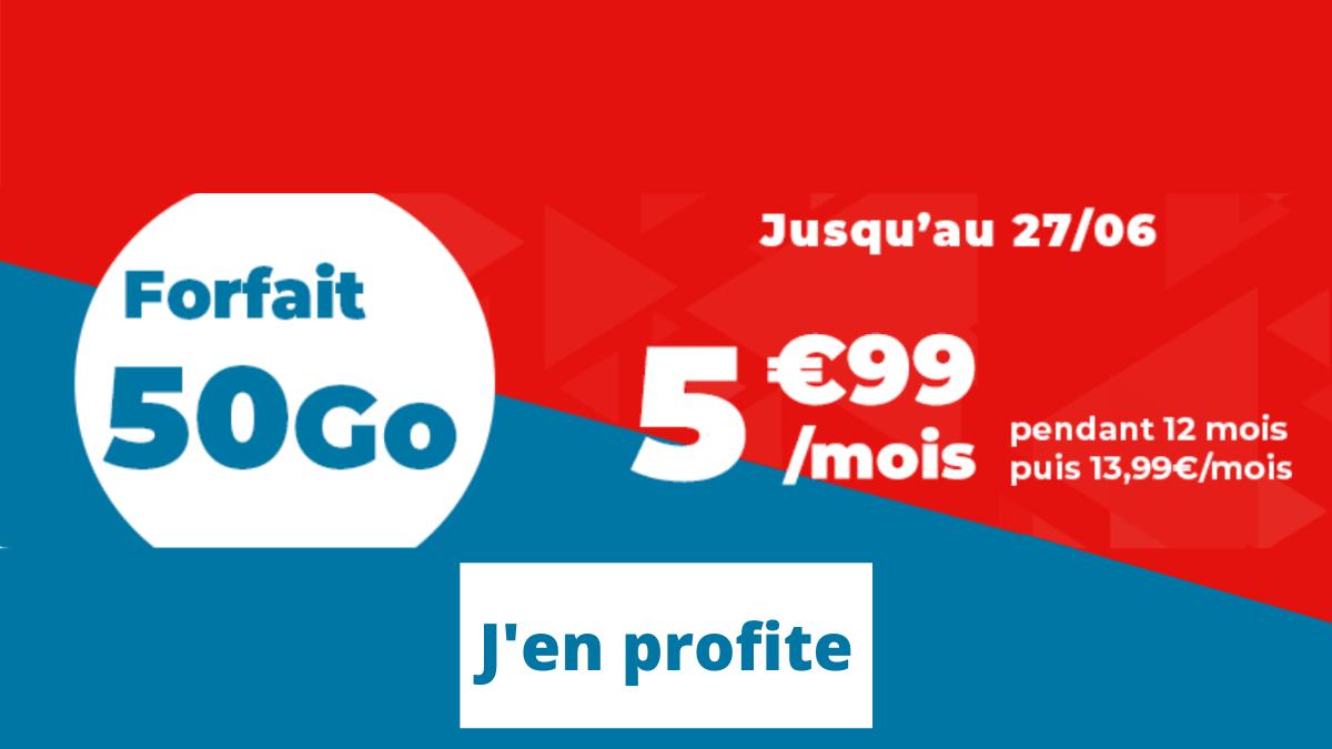 Recap forfait Auchan promo