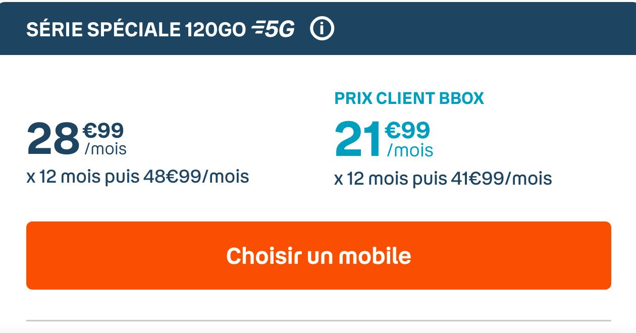 Forfait 120 Go de Bouygues