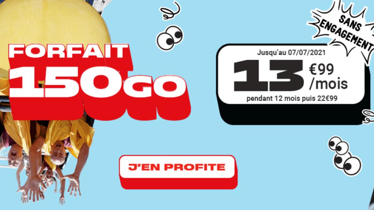 150 Go fin de promo