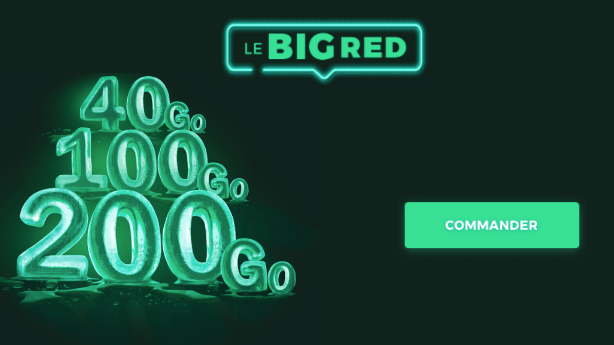 big red forfait 4g