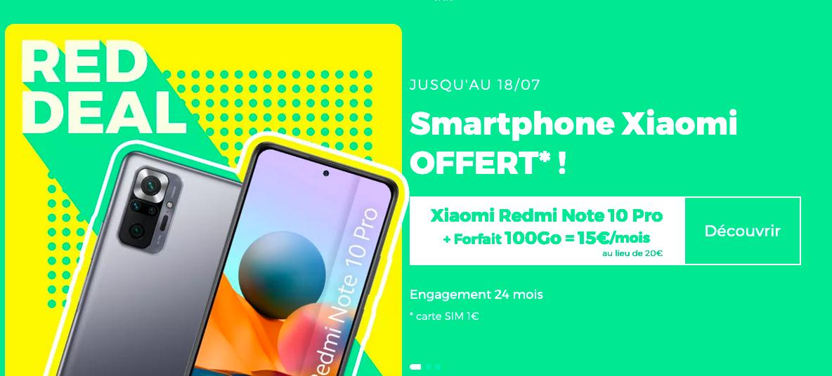100 Go avec un smartphone gratuit