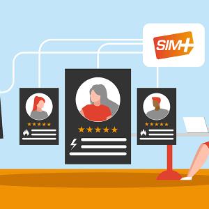Les retours clients SIM+