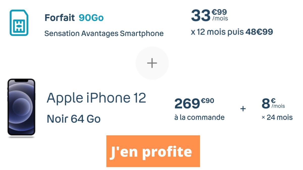 Bouygues Telecom iPhone 12 forfait 5G