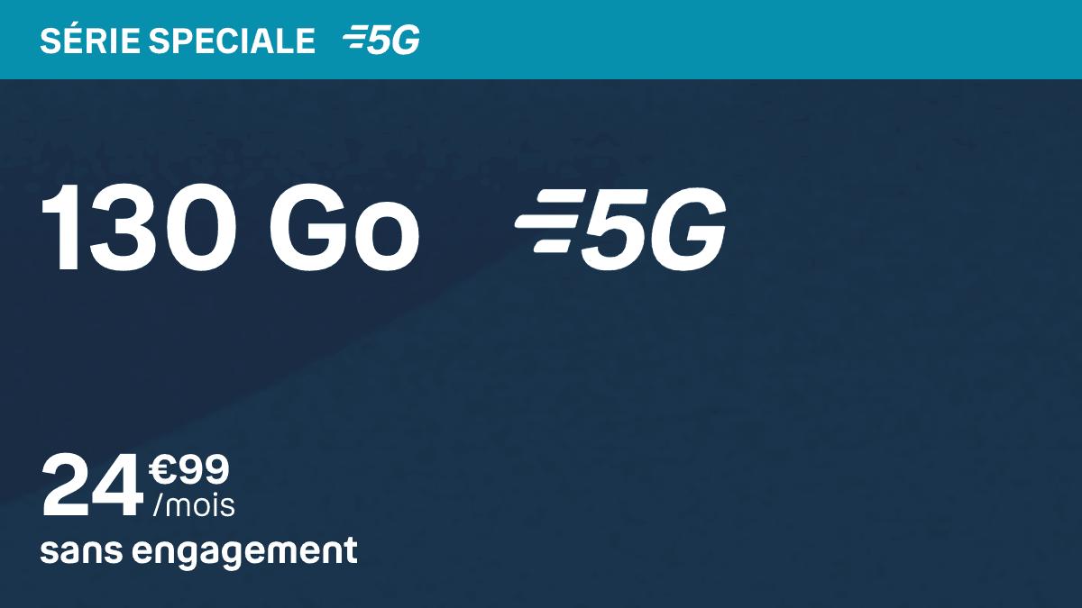 Meilleur forfait 5G chez BYOU Bouygues