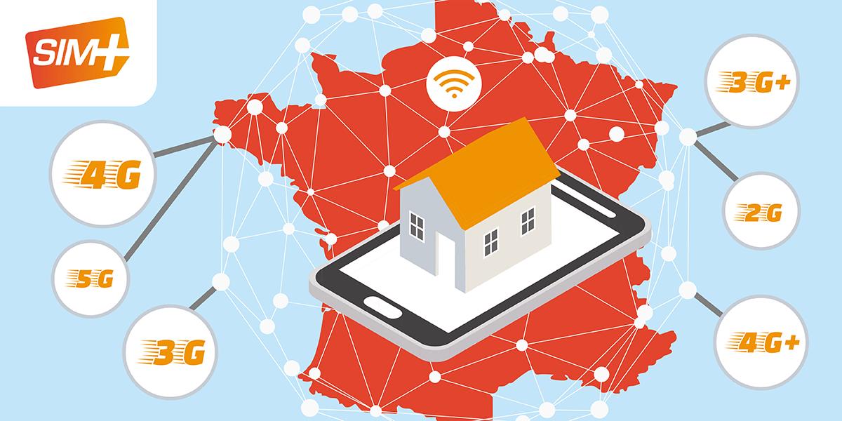 Couverture réseau SIM+