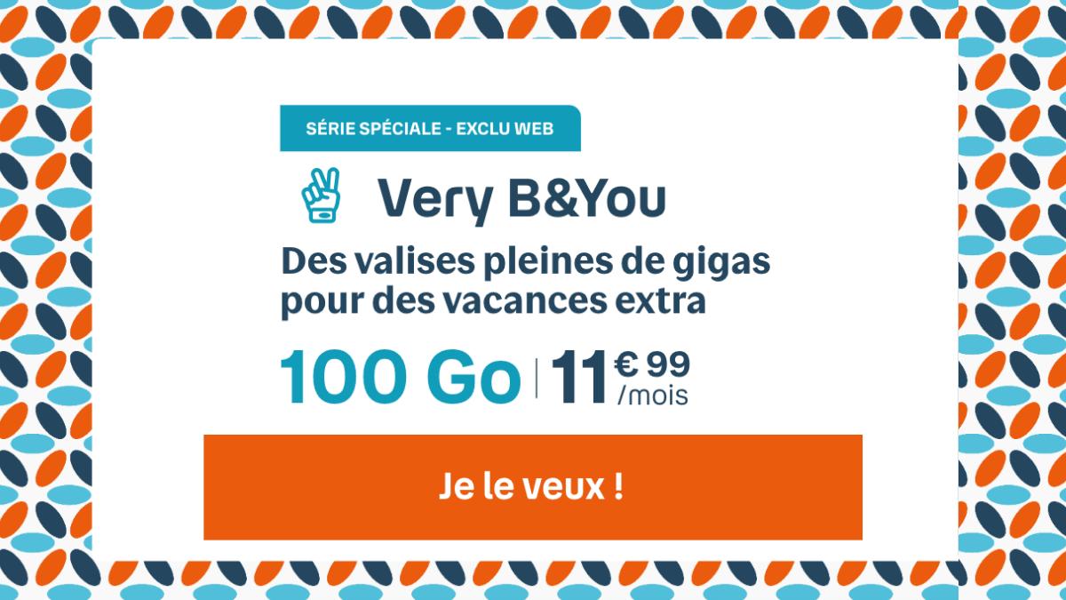 Forfait 4G Very 100 Go