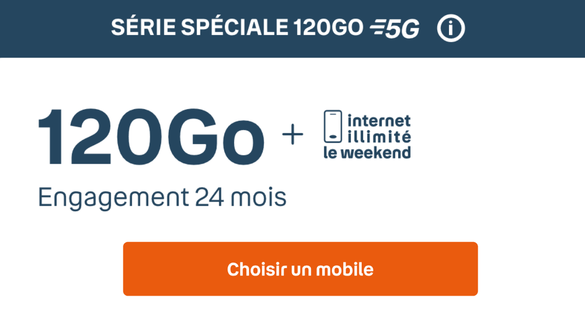 Forfait 5G Bouygues