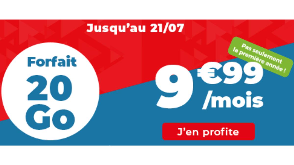 Auchan forfait 20 Go