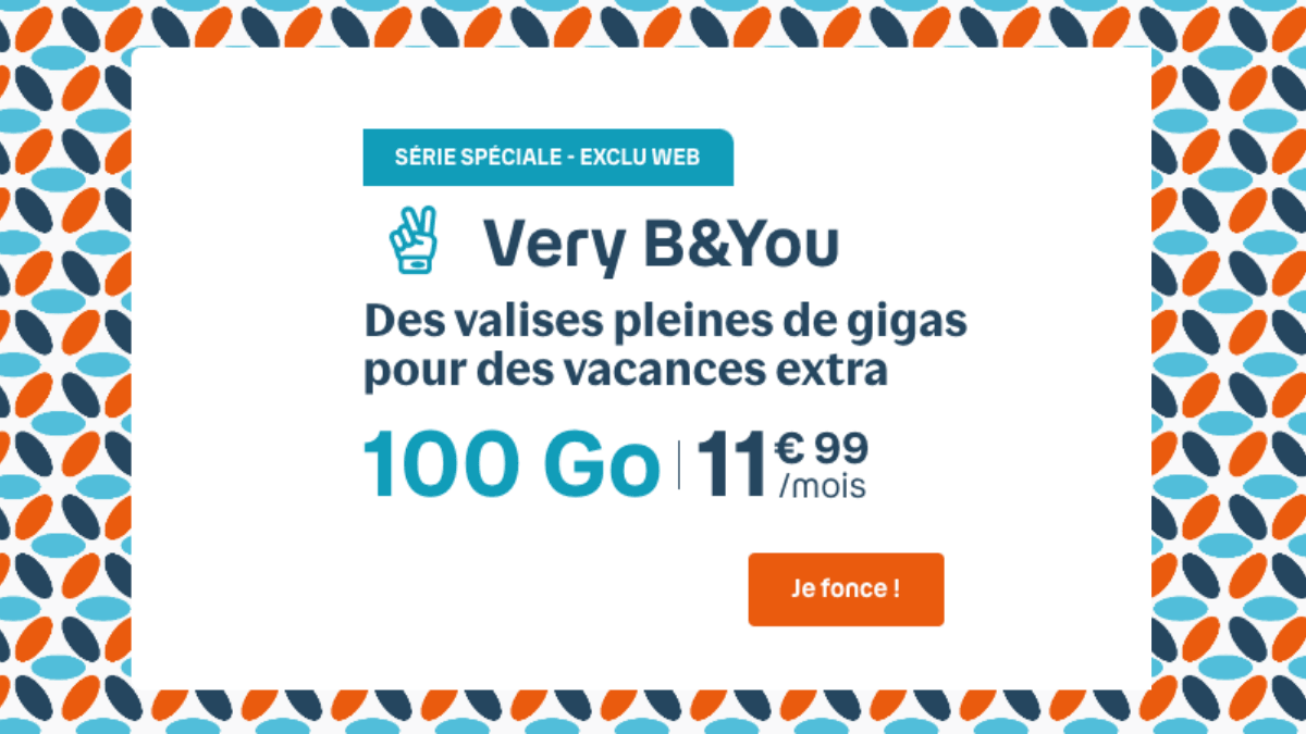 Forfait data 100 Bouygues