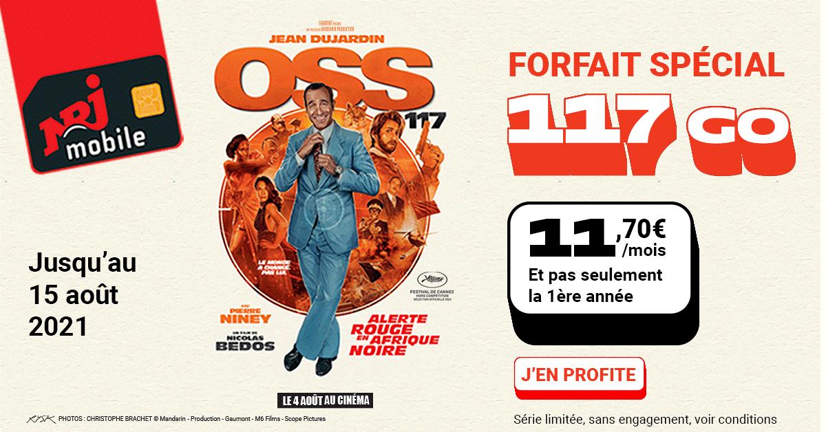 Forfait data OSS 117 Un