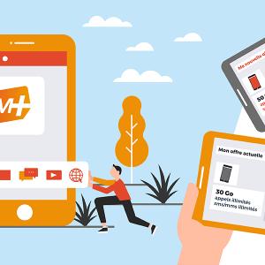 Les abonnements mobiles SIM+