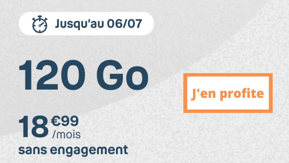 Le 120 Go promo
