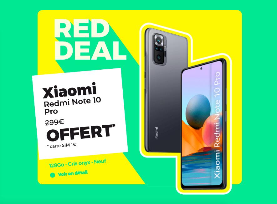 Le Xiaomi offert avec RED by SFR