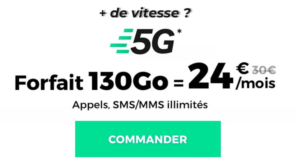 RED 5G 130 Go