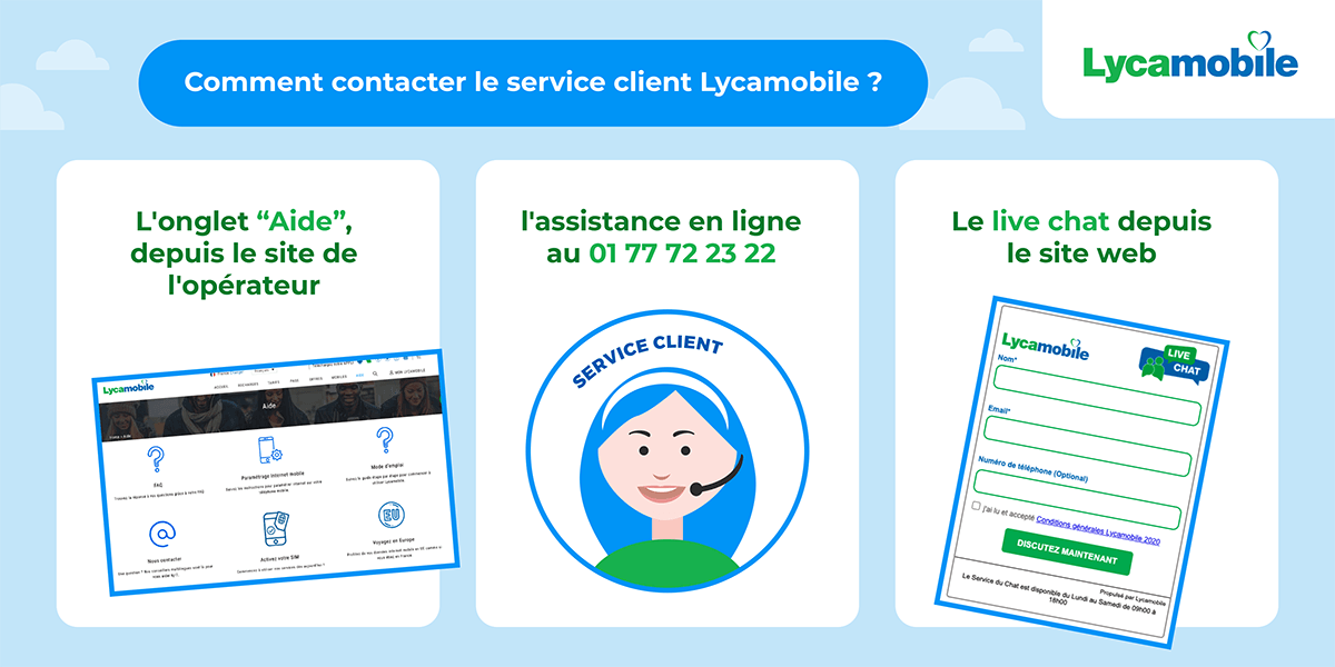 Assistance Lycamobile