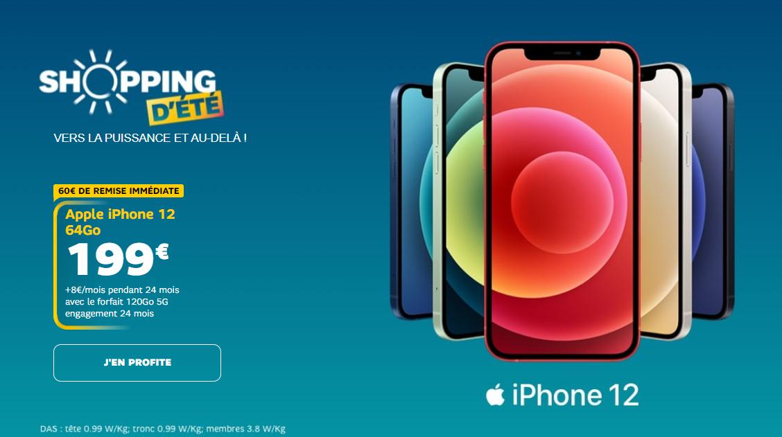 smartphones en promo sfr
