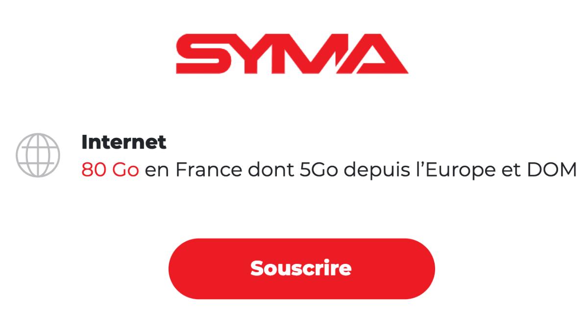 Syma mobile 80 Go