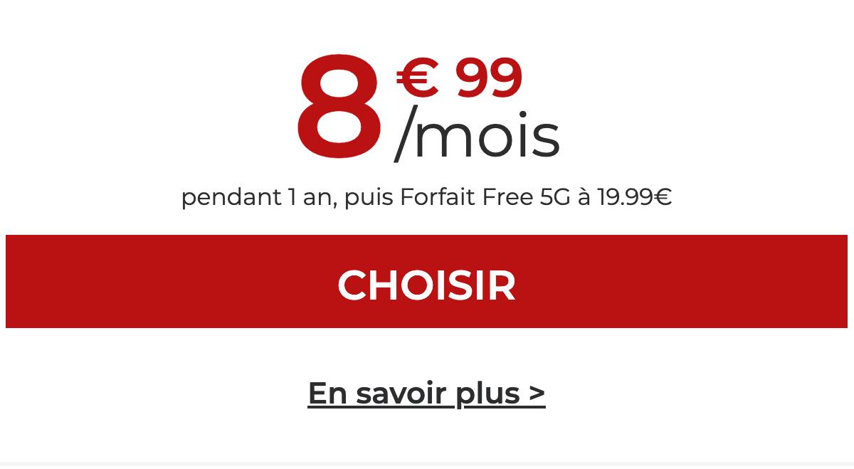 Free propose de réduire sa facture avec le forfait 90 Go