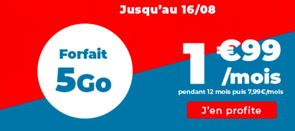 Le forfait 4G Auchan Telecom