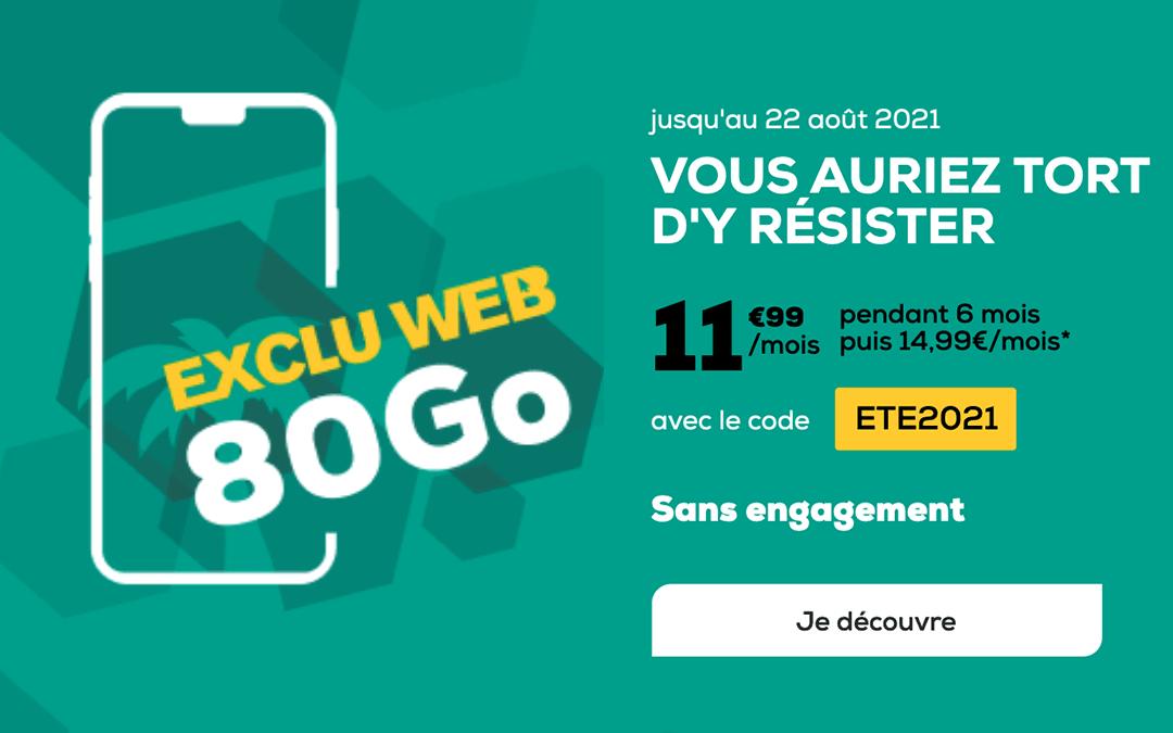 L'exclu web 80 Go La Poste Mobile