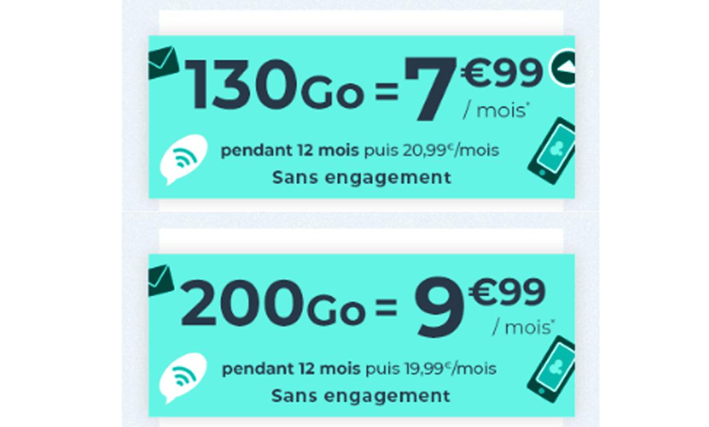 Promos sur les forfaits mobiles Cdiscount Mobile