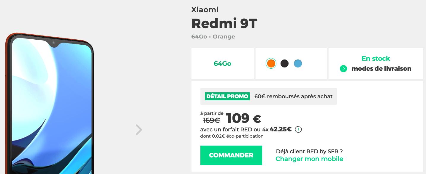 RED Days Xiaomi 9T