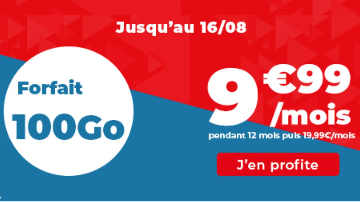 forfait 100 Go Auchan Telecom