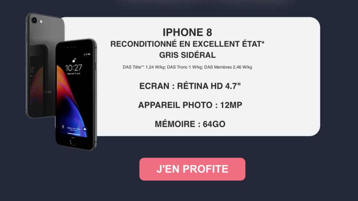 Derniers jours iPhone plus forfait
