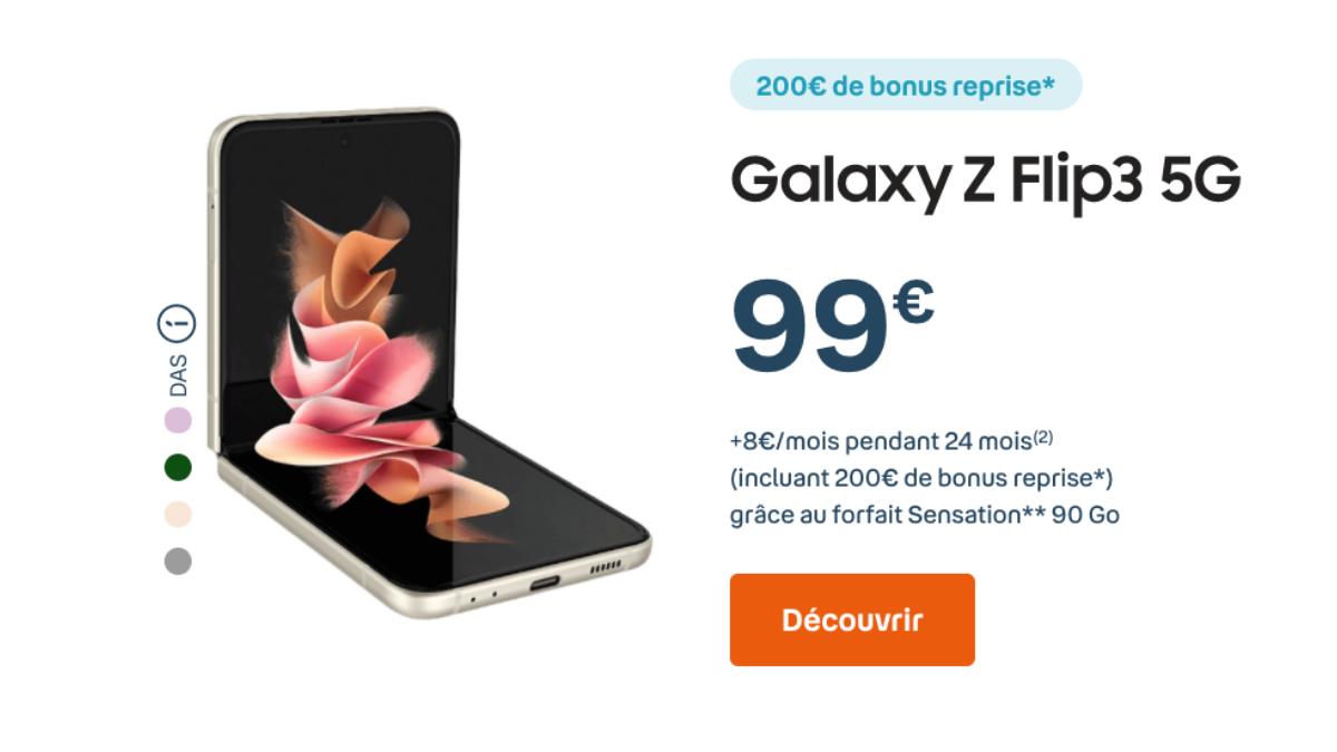 promotion sur le forfait sensation 90 Go de Bouygues Telecom