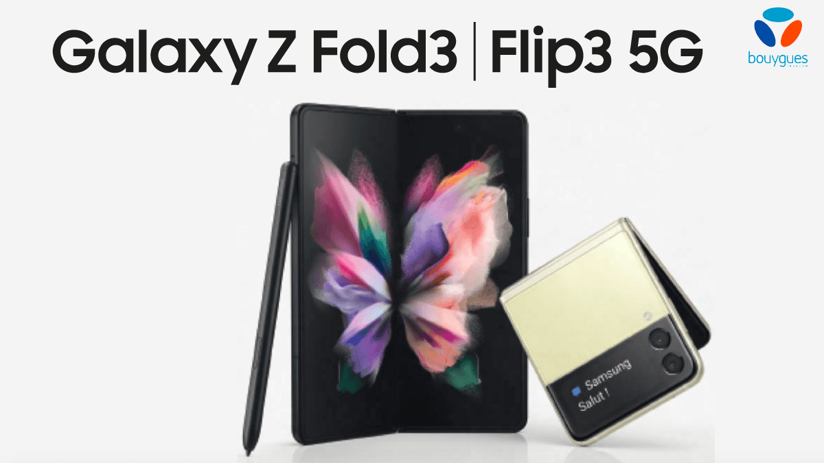 Le Samsung Galaxy Z Fold 3 à 999€