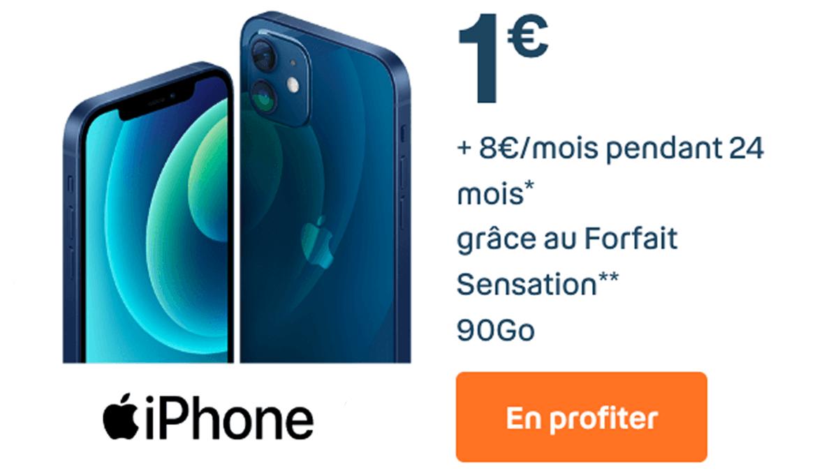iPhone 11 à 1€ avec le forfait Sensation de Bouygues