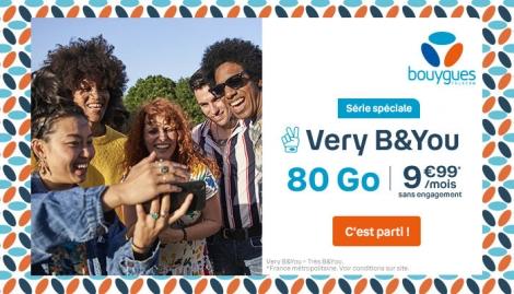 Promo forfait 80 Go B&YOU