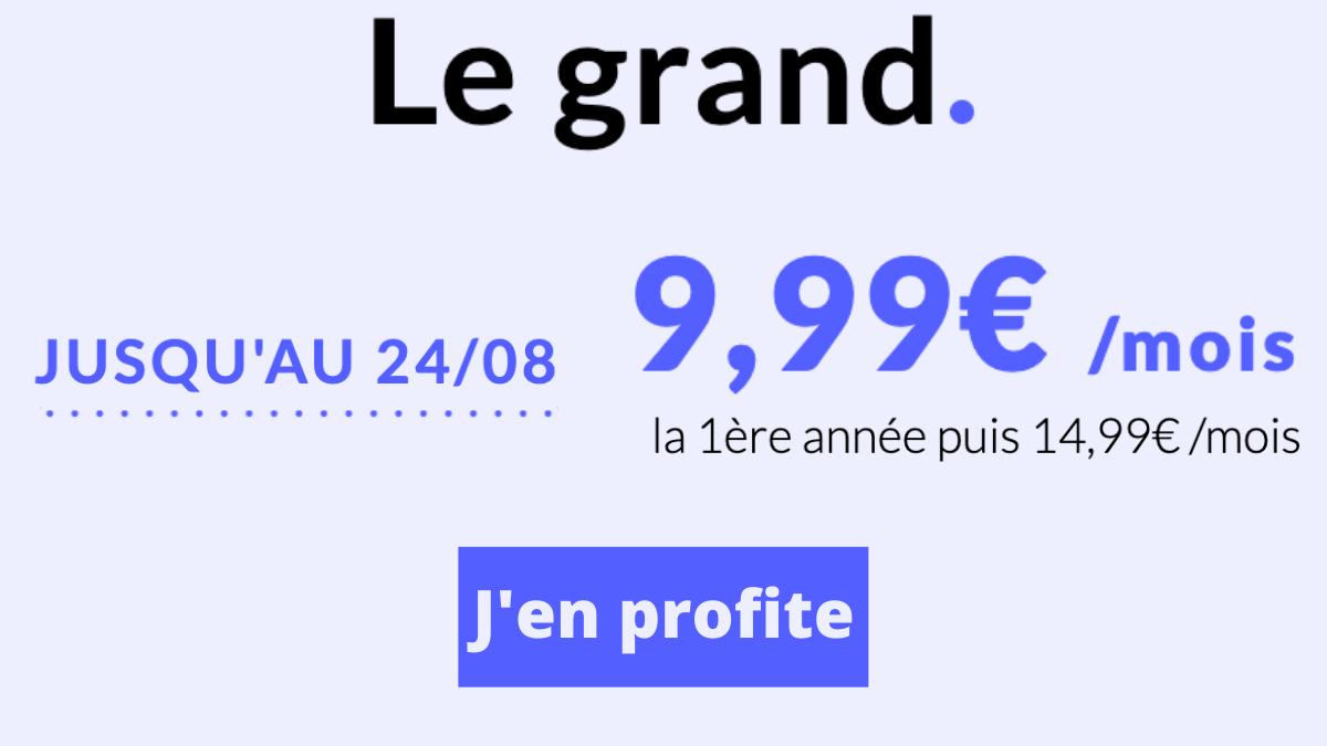 Prixtel forfait 4G grand