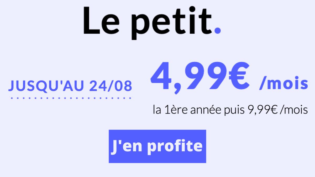 Prixtel forfait 4G petit