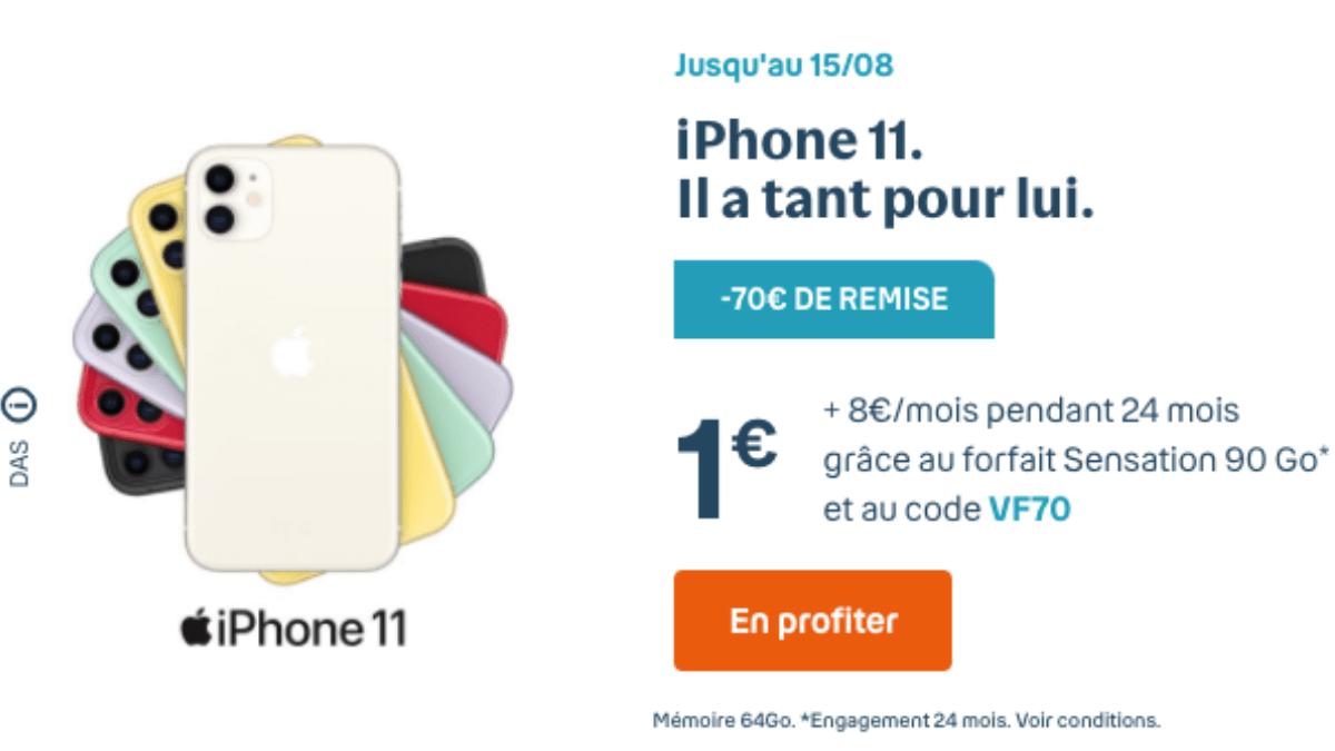 iPhone 11 en promo