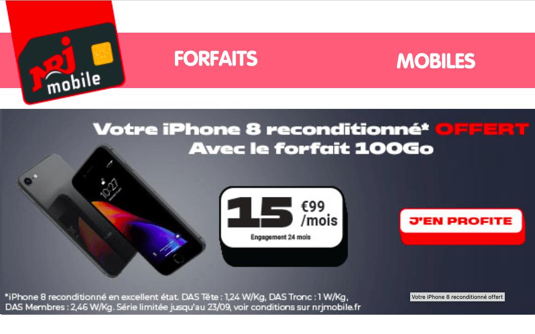 Forfait 100 Go NRJ Mobile