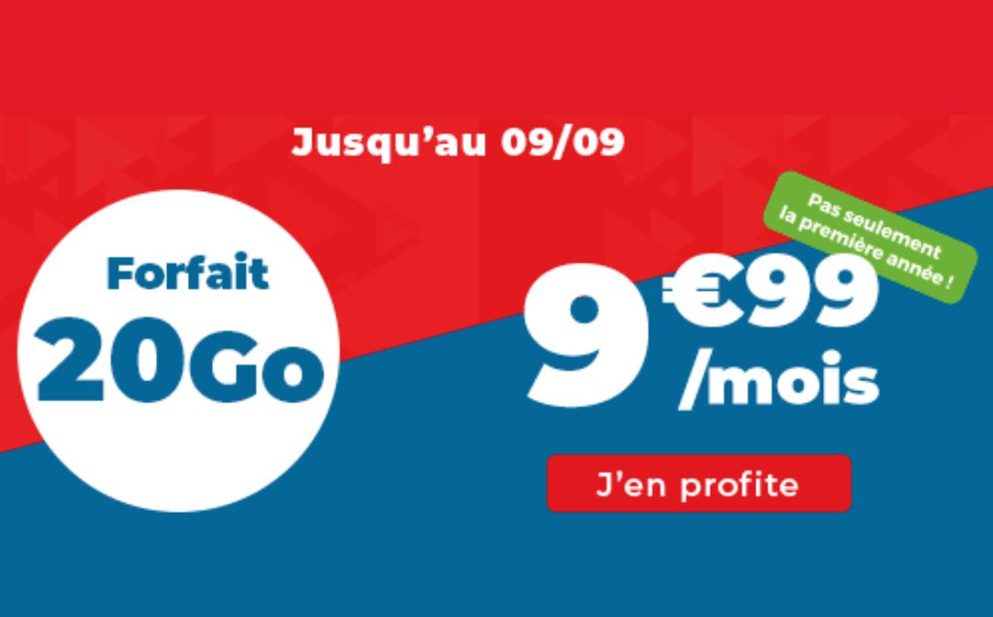 Forfait 20 Go Auchan Telecom