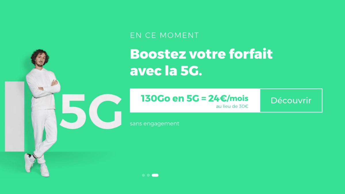 Le forfait 130 Go de RED by SFR est en promotion