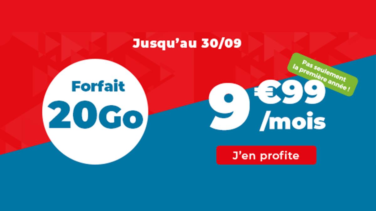 Le forfait mobile à moins de 10€ chez Auchan Telecom