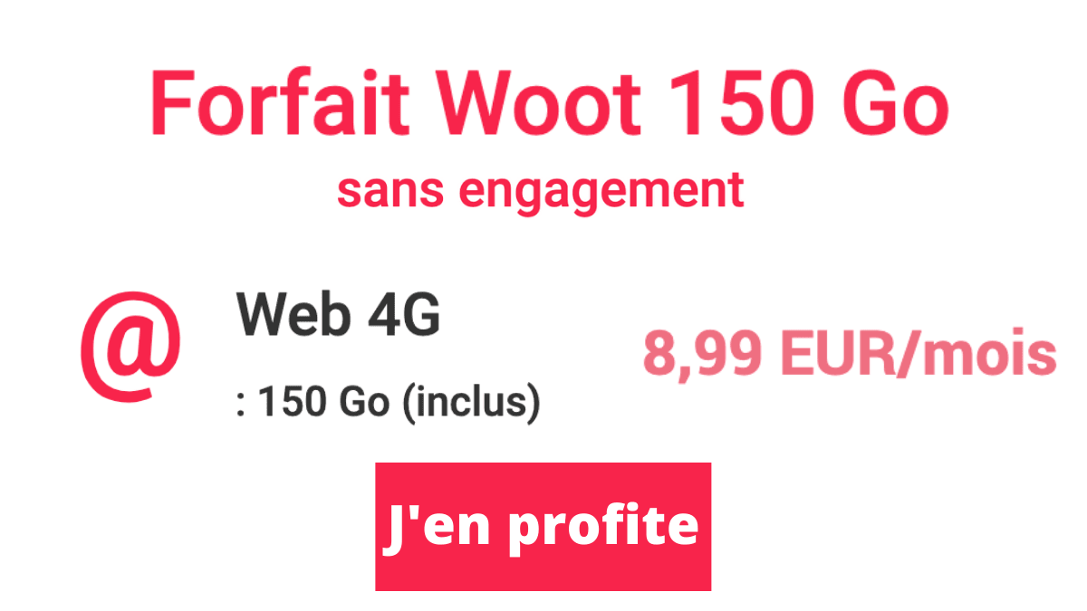 Forfait mobile série Auchan NRJ septembre21